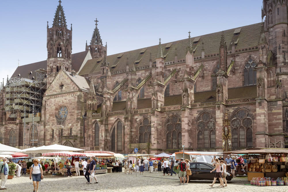 Freiburg germany cathedral