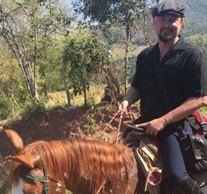Geoff trail ride