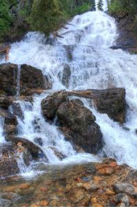 waterfalls montana